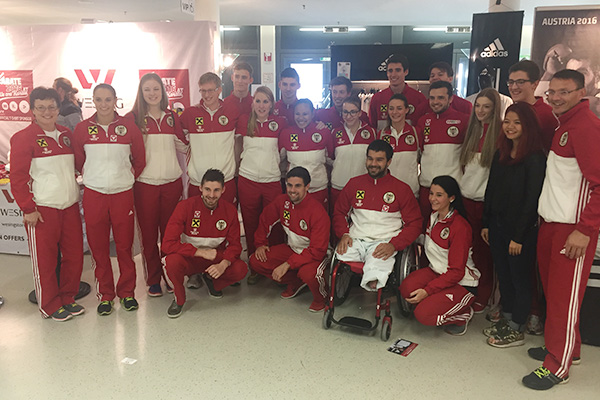 2016-10-28 Karate-WM Linz Team Austria