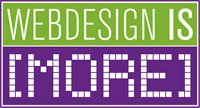 Webdesign is [more]